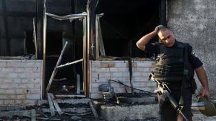 Dům na Západním pobřeží, který zapálili židovští extrémisté