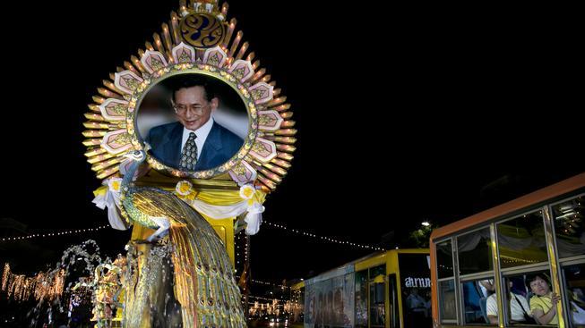 Thajský král je nedotknutelný