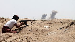 Přibližně 20 spojeneckých vojáků bylo zabito při náletech koaličních sil v Jemenu