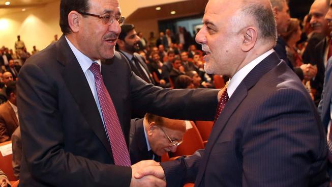 Současný premiér Abádí a jeho předchůdce Malikí se nakonec dohodli