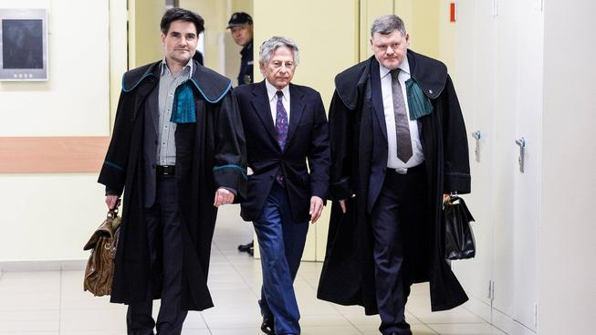 Režisér Roman Polanski u krakovského soudu