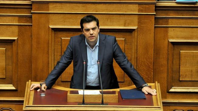 Řecký premiér Alexis Tsipras nemá jistotu, že třetí balík podpoří členové jeho vlastní strany