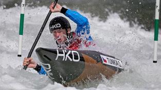Kajakář Ondřej Tunka skončil celkově druhý ve Světovém poháru vodních slalomářů