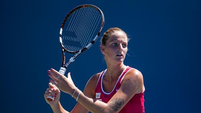Karolína Plíšková na turnaji v Torontu