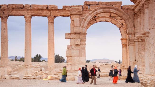 Syrské město Palmýra je pod nadvládou radikálů z IS. Ilustrační foto