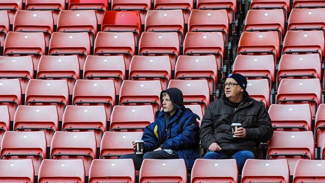 Stadion v Southamptonu ve švech rozhodně nepraská