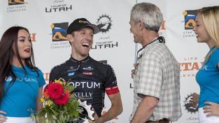 Mike Woods dojel na Tour of Utah celkově druhý