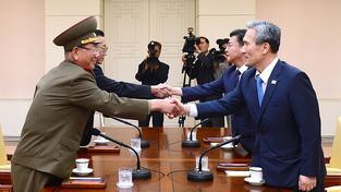 Vysocí představitelé Jižní a Severní Koreje jednají o napjaté situaci mezi oběma zeměmi