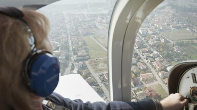 Žena musela s letadlem přistát bez jakýchkoli předchozích zkušeností (ilustrační snímek)
