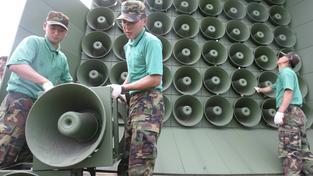 Jižní Korea vypnula tlampače, které do KLDR vysílaly propagandu