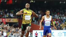Bolt zůstává na sprinterském trůnu. Dvoustovku vyhrál suverénně, Gatlin neměl nárok