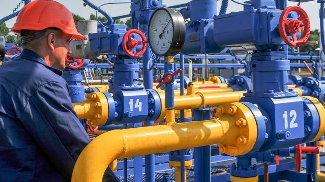 Ukrajina požaduje slevu na dodávky plynu z Ruska. Ilustrační foto