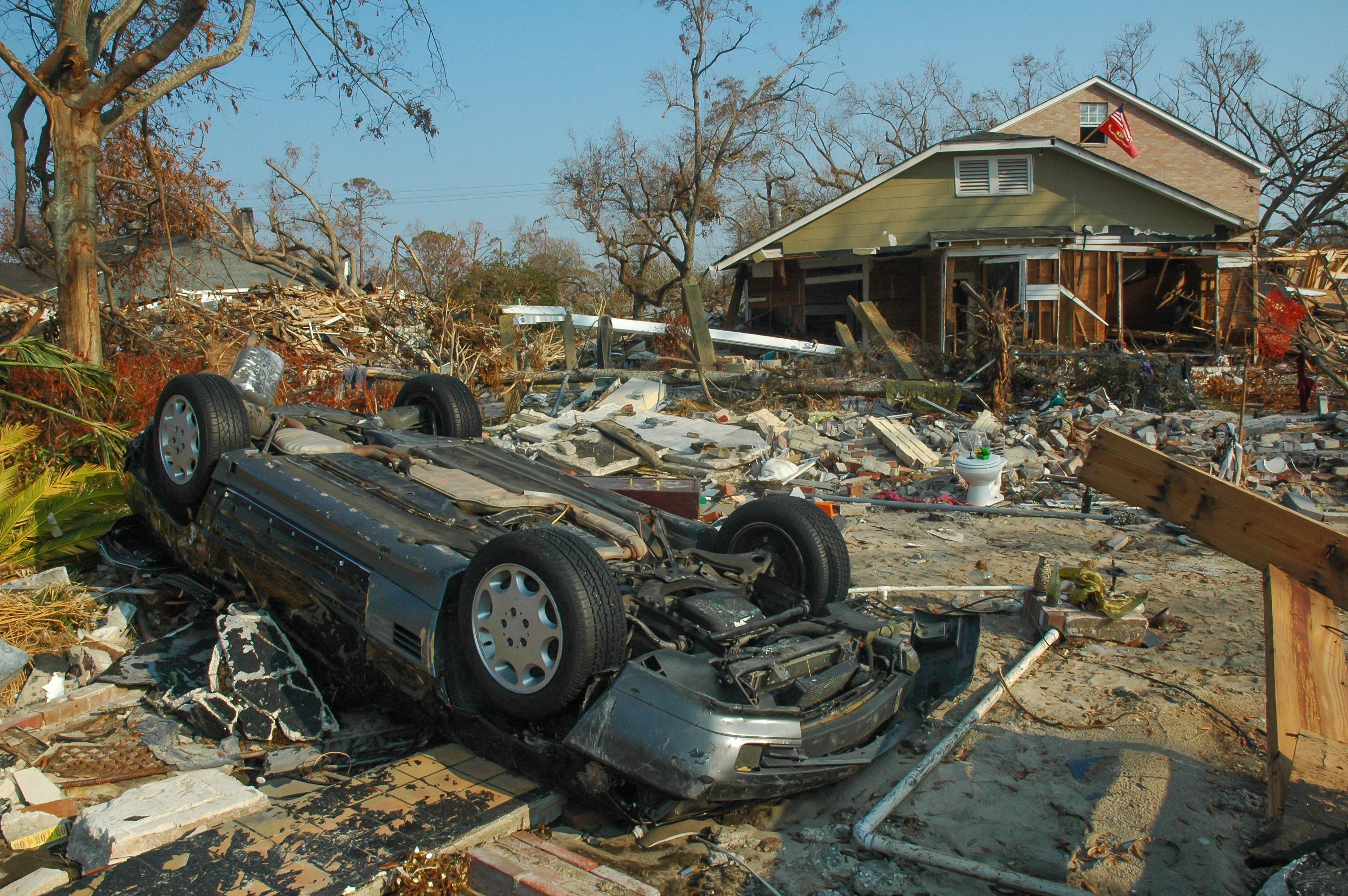 10 let od hurikánu Katrina