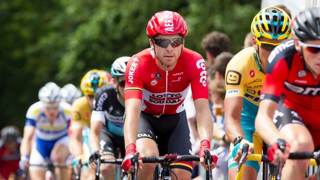 Kris Boeckmans během belgického šampionátu
