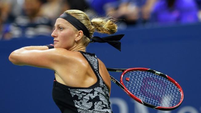 Petra Kvitová vstoupila do US Open suverénním vítězstvím
