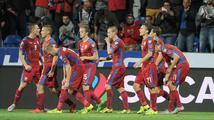 Češi se protrápili k vítězství. Hrozící blamáž odvrátil náhradník Škoda