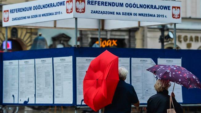 Referendum se v Polsku uskuteční v neděli 6. září. Aby platilo, musí se ho zúčastnit nadpoloviční většina