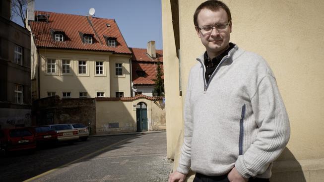 Disident Ales Michalevič v Praze