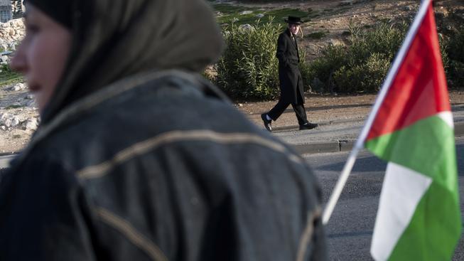 Palestinská vlajka zavlaje před sídlem OSN i přes nesouhlas Izraele a USA. Ilustrační foto