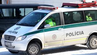 Slovensko vyslalo na hranice dalších 220 policistů. Ilustrační foto