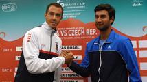 Baráž Davisova poháru: Do boje se soupeřem a počasím jde první Rosol