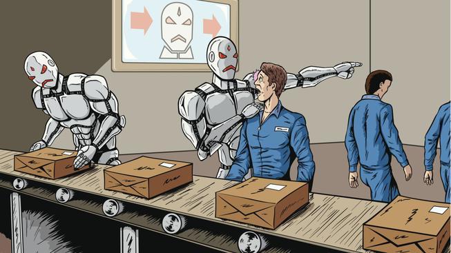 Stroje a lidé se mohou podle vědců jednoho dne utkat o nadvládu v některých profesích. Ilustrační foto