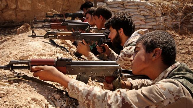 Syrská armáda používá zbraně z Ruska. Ilustrační foto