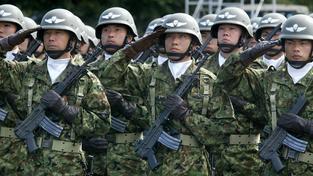 Díky zákonu mohou Japonci nasadit armádu v zámoří. To v Číně vyvolává obavu. Ilustrační foto