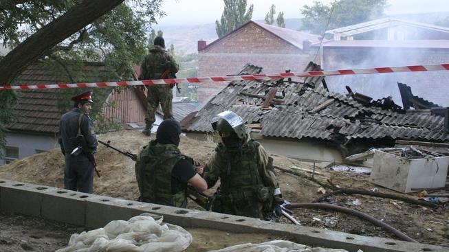 Dagestánské bezpečnostní jednotky bojují proti skupinám teroristů. Ilustrační foto