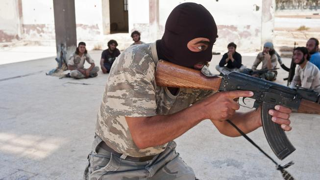 Výcvik vojáků proti jednotkám IS. Ilustrační foto