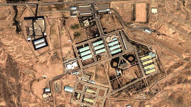 Íránská vojenská základna Parčín