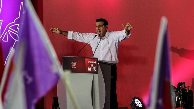 Tsipras sice slaví, jeho zemi ale čeká mimořádně těžké období