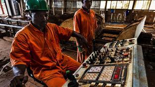 Africký kontinent potřebuje industrializaci. Ilustrační foto