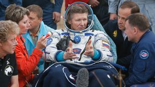 Ruský rekordman v pobytu ve vesmíru Gennadij Padalka