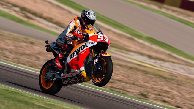 Kvalifikaci MotoGP vyhrál Marc Márquez
