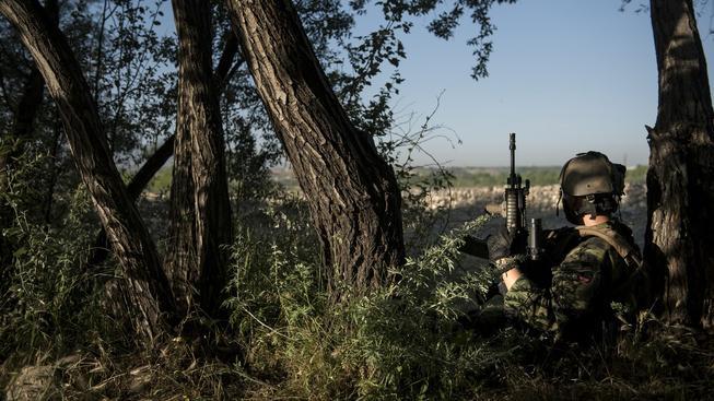 Český voják Josef Brychta přežil útok na mezinárodní leteckou základnu v afghánském Bagrámu (ilustrační snímek)