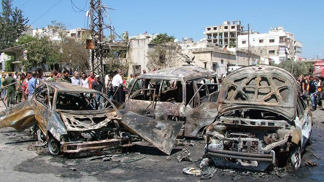 Rusko se do konfliktu zapojilo poté, co začaly boje ohrožovat syrské město Latákíje