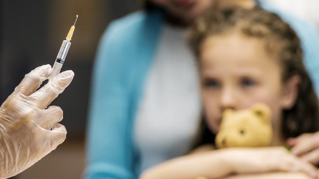Povinné očkování je i nadále podmínkou pro vstup dítěte do mateřské školy. Ilustrační foto
