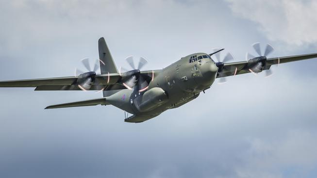 V Afghanistánu se zřítilo armádní transportní letadlo C 130 Hercules (ilustrační snímek)