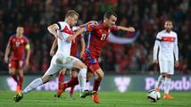 Češi se proti Turecku trápili, o jejich prohře rozhodla sporná penalta