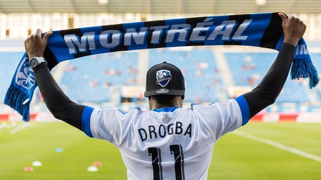 Didier Drogba se stal v červenci novou posilou Montrealu Impact