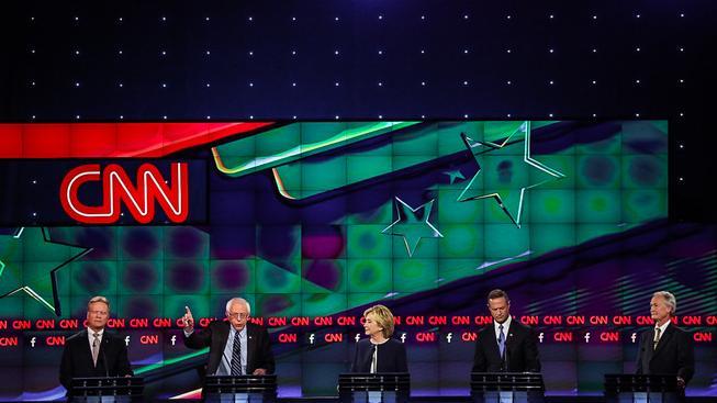 První demokratická televizní debata uchazečů o prezidentské křeslo