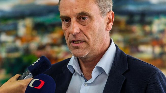 Olomoucký hejtman Jiří Rozbořil