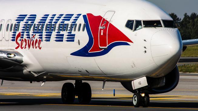 Cestující napadli posádku aerolinek Travel Service (ilustrační snímek)