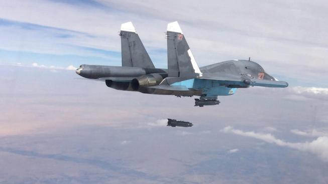 Ruská armáda stupňuje nálety na syrském území