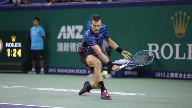 Tomáš Berdych v Šanghaji nestačil na Andyho Murrayho