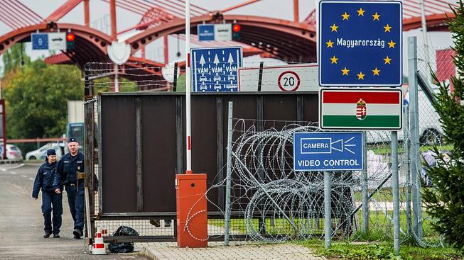Maďarské hranice s Chorvatskem