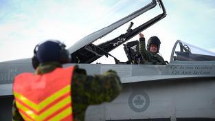 Kanadské bombardéry CF-18 Hornet by měly svou misi v Sýrii a Iráku skončit nejpozději v březnu (ilustrační snímek)