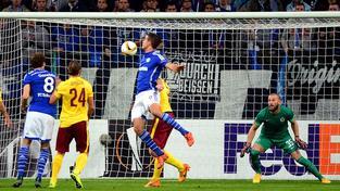 Úvodní gól utkání mezi Spartou a Schalke vstřelil Franco Di Santo