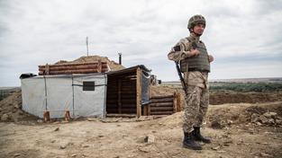 Na východě Ukrajiny už padlo více než dva tisíce ukrajinských vojáků (ilustrační snímek)